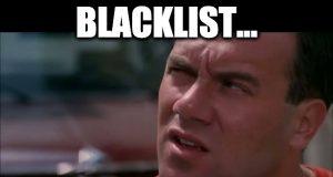 cos'è il blacklist