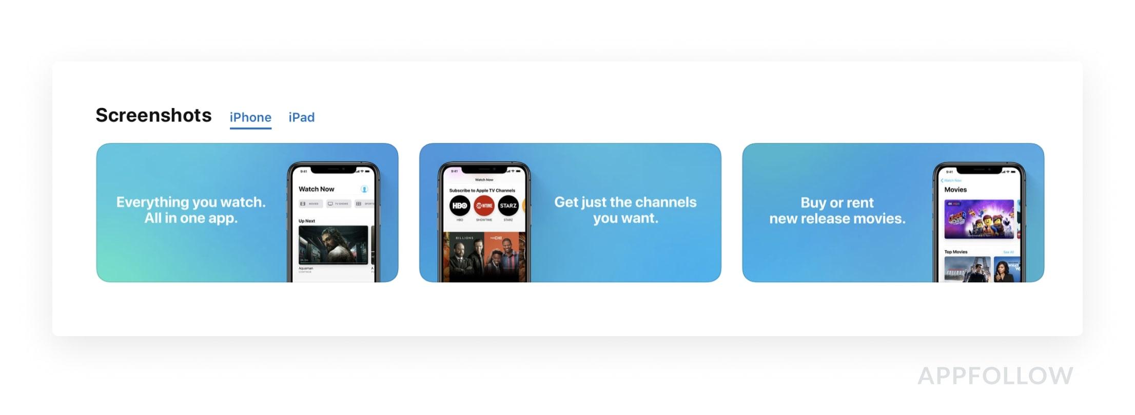 App Store AppleTV