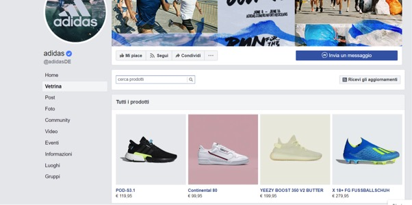 catalogo facebook collections