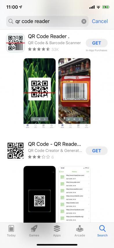 Risultati ricerca iOS