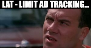 LAT Limit Ad Tracking