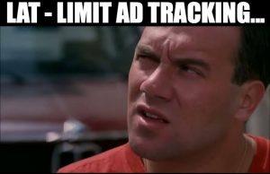 LAT Limit Ad Tracking
