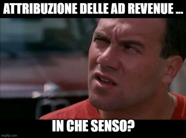 Attribuzione delle Ad Revenue